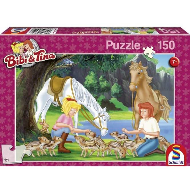 Puzzle - Bibi & Tina - Am Steinbruch - 150 Teile