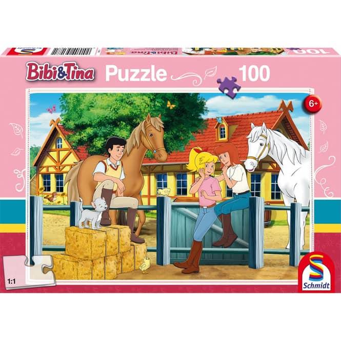 Puzzle - Bibi & Tina - Auf dem Martinshof - 100 Teile