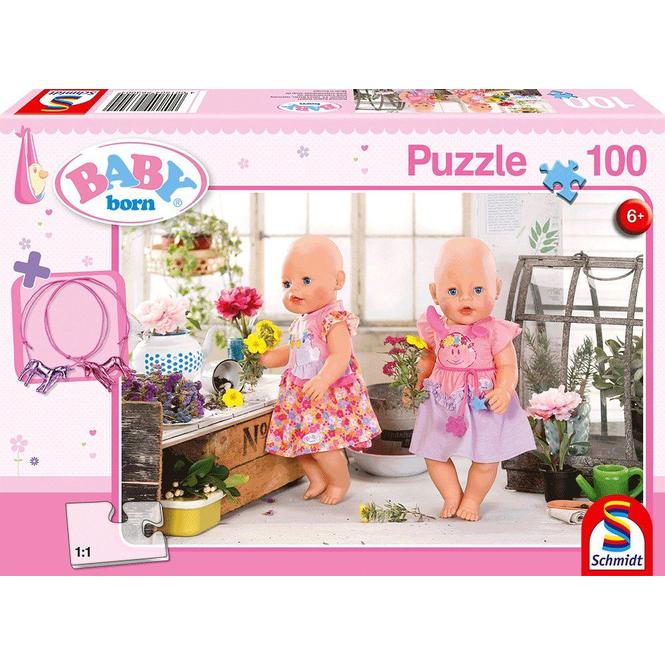 Baby Born - Puzzle - Blumenmädchen - inkl. Freundschaftsbändern