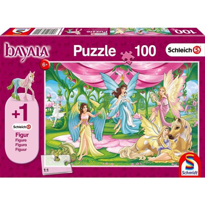 Puzzle - Bayala - Im Kronsaal - 100 Teile + Figur