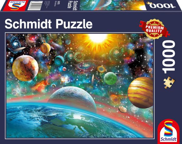 Puzzle - Weltall - 1000 Teile