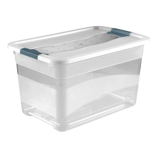 Kristallbox - transparent - 52L