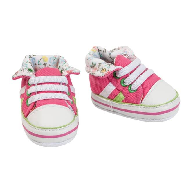 Puppen Turnshuhe - Größe 38-45 cm - pink