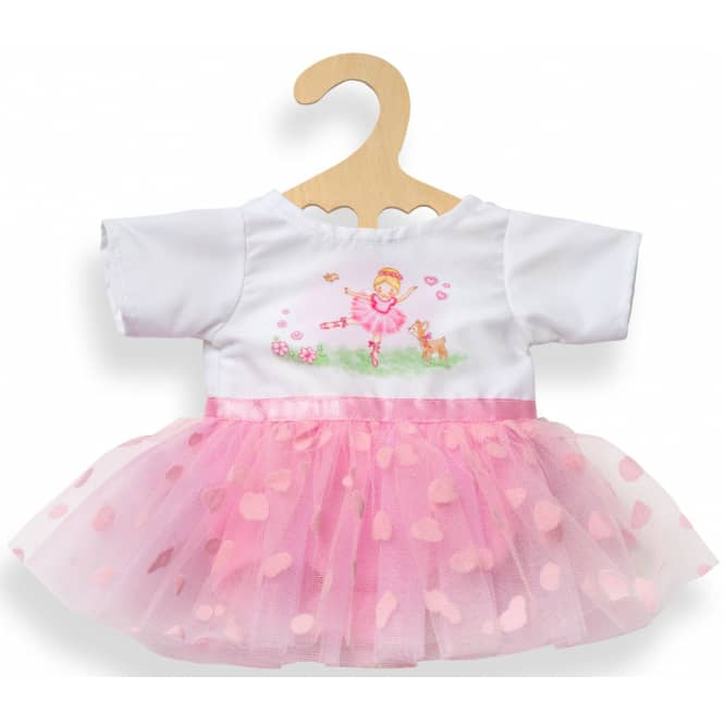 Puppen Ballerina-Kleid - Größe 35-45 cm