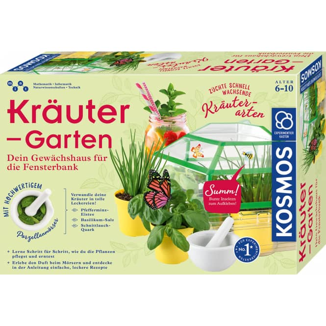 Kräuter-Garten - Experimentierkasten
