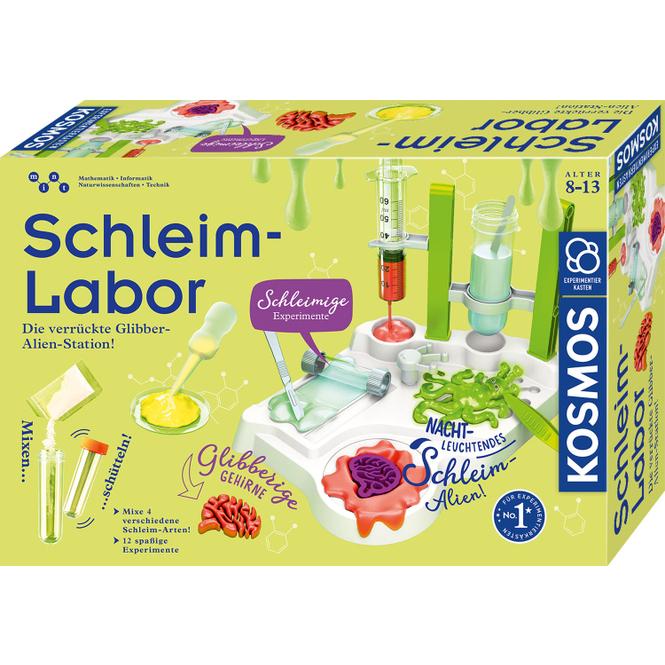 Schleim-Labor - Experimentierkasten