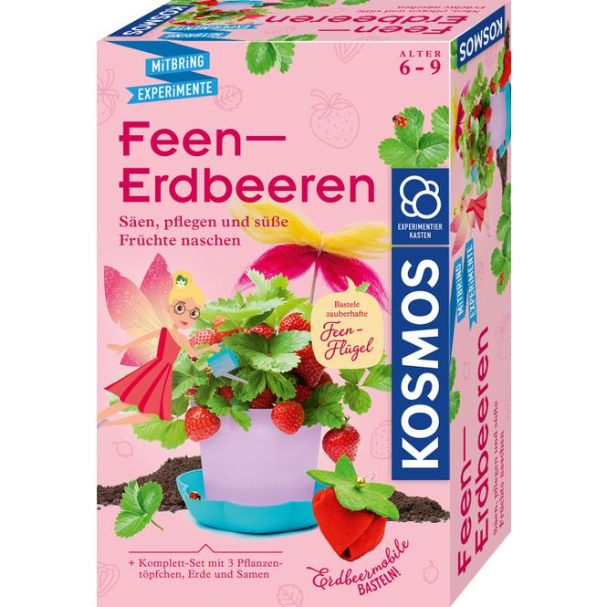 Feen-Erdbeeren - Mitbring-Experimente
