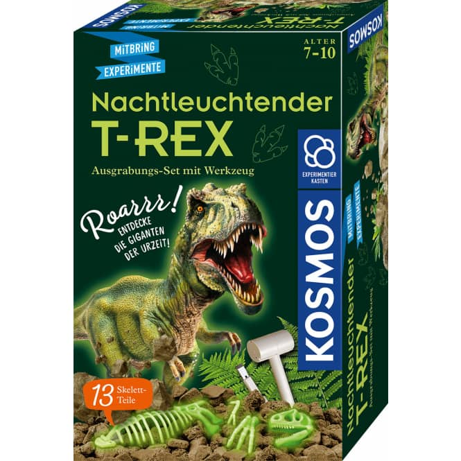 Nachtleuchtender T-REX - Mitbring-Experimente