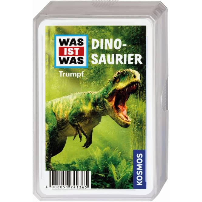 WAS IST WAS - Trumpf Kartenspiel - Dinosaurier