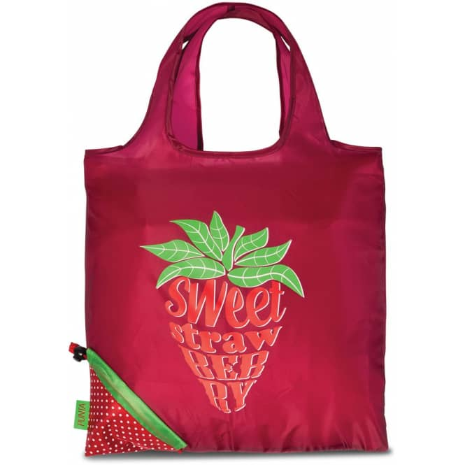 Faltshopper Erdbeeren