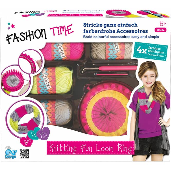 Fashion Time - Strick Ring