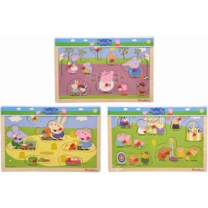 Peppa Pig - Steckpuzzle - 1 Stück