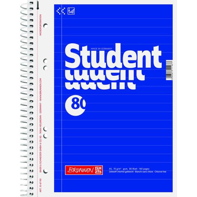 Collegeblock A5 liniert - 80 Blatt - 1 Stück