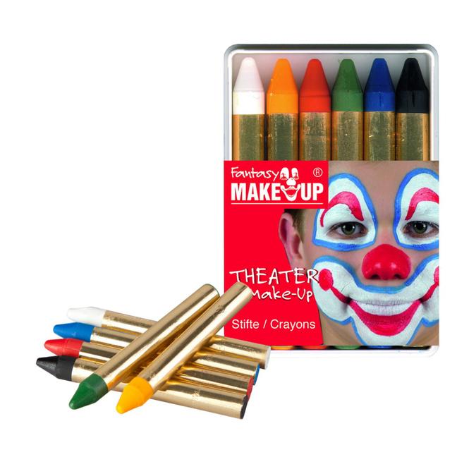 Schminkstifte - 6 Stück
