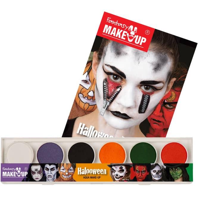 Schminkset - Fantasy Make-Up - 6-teilig - Halloween