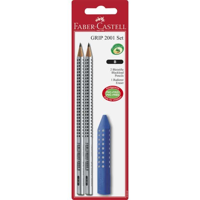 Faber-Castell - Bleistiftset mit Radierer