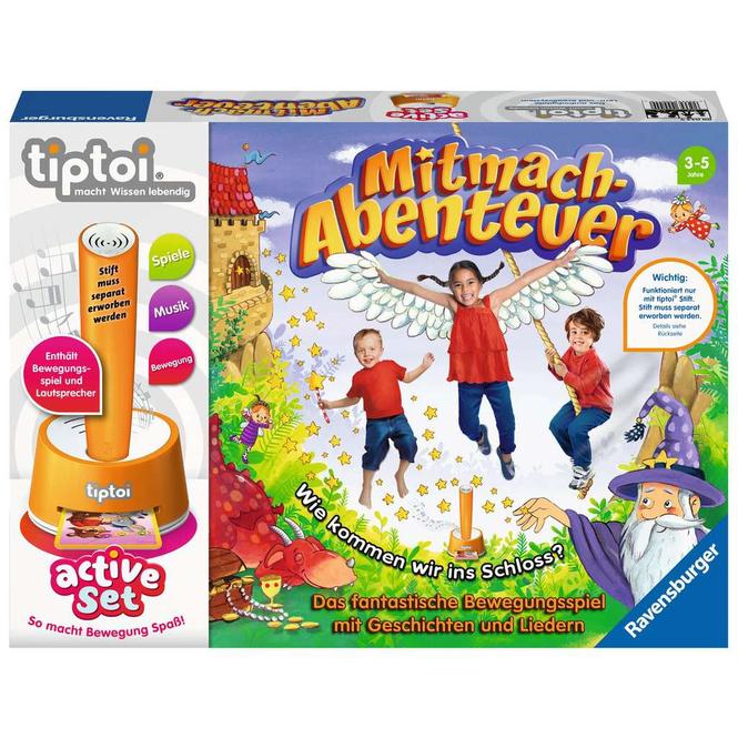 tiptoi® active Set - Mitmach-Abenteuer - Ravensburger