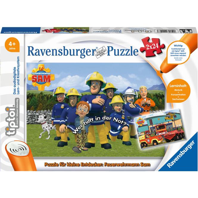 tiptoi®Puzzle - Feuerwehrmann Sam