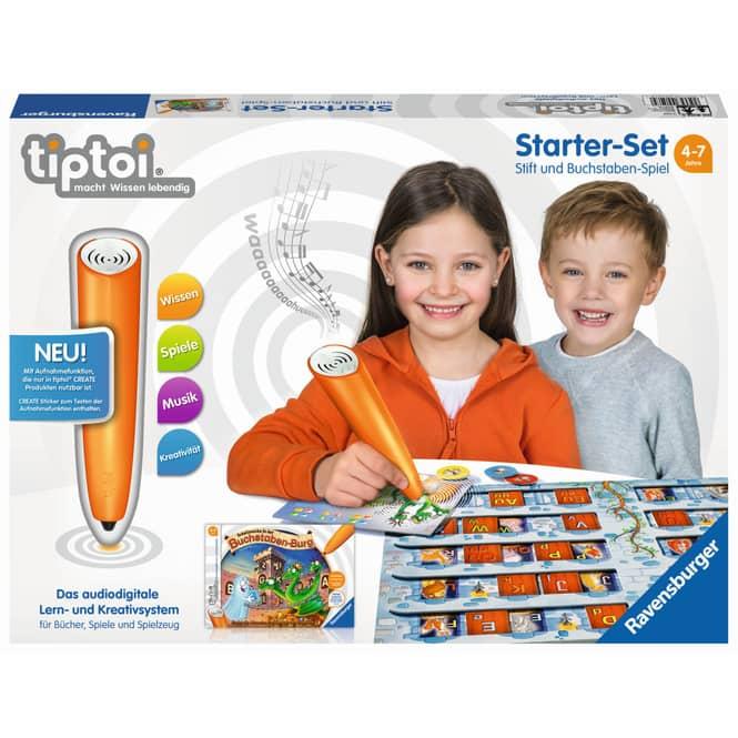 Tiptoi - Starter-Set - Stift und Buchstaben-Spiel