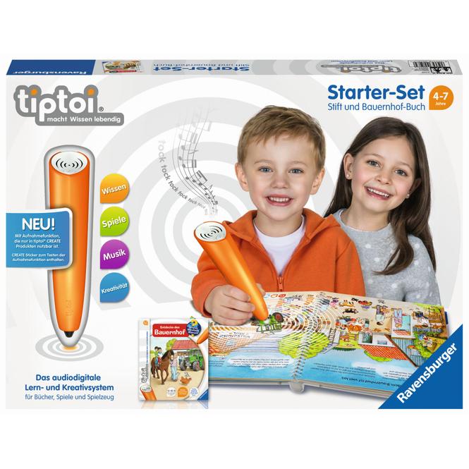 Tiptoi - Starter-Set - Stift und Bauernhof-Buch