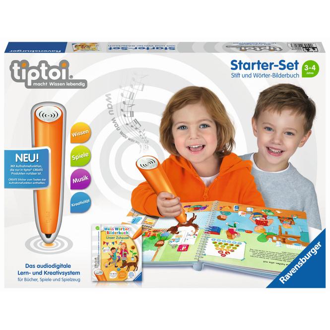 Tiptoi - Starter-Set - Stift und Wörter-Bilderbuch