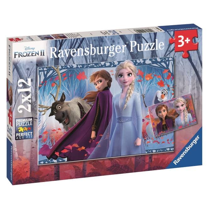 Kinderpuzzle - Die Eiskönigin 2 - 2 x 12 Teile