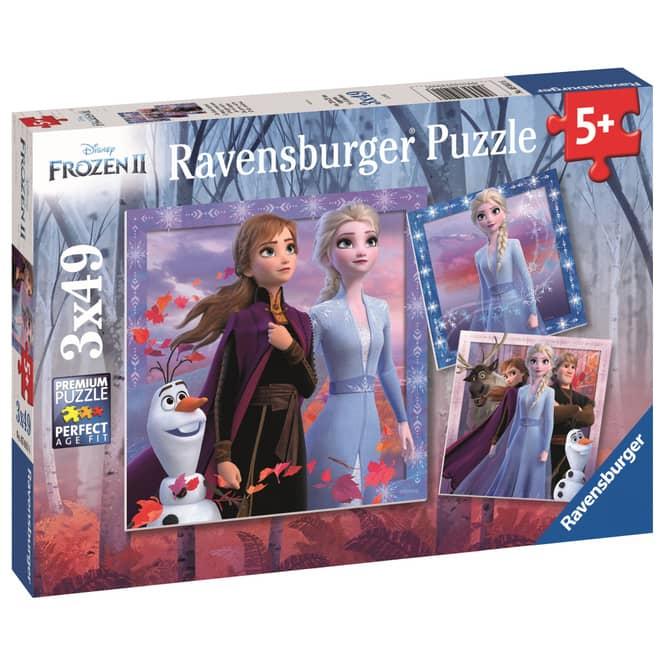 Kinderpuzzle - Die Eiskönigin 2 - Die Reise beginnt - 3 x 49 Teile