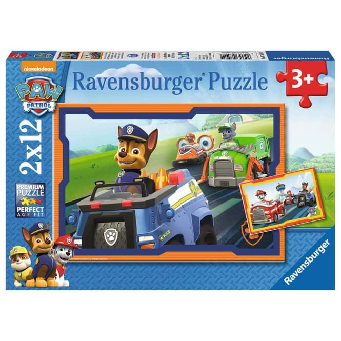 Puzzle-Box - Paw Patrol - Im Einsatz - 2x 12 Teile