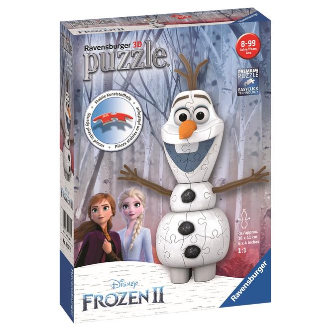 3D Puzzle - Die Eiskönigin 2 - Olaf - 54 Teile