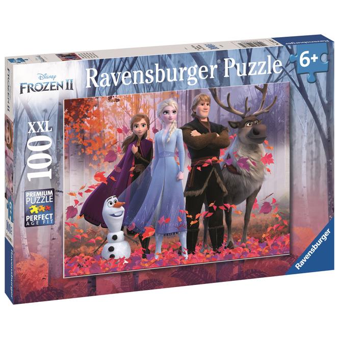 Kinderpuzzle - Die Eiskönigin 2 - Magie des Waldes - 100 Teile