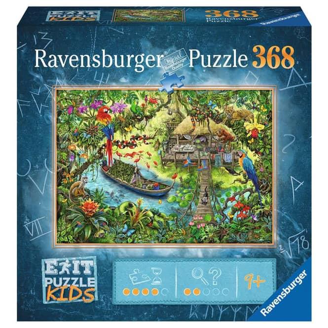Puzzle - EXIT KIDS - Dschungelsafari - 368 Teile