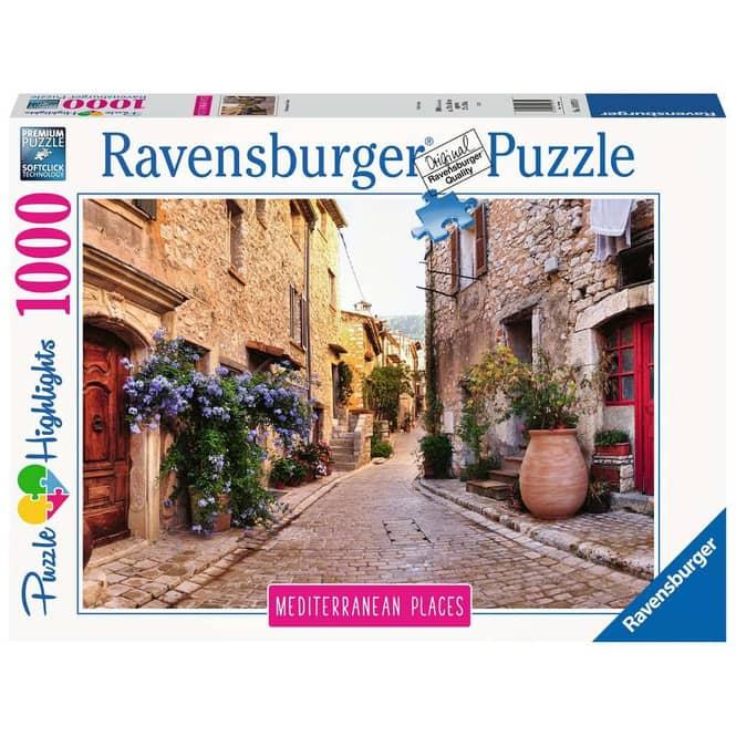 Puzzle - Mediterranean France - 1000 Teile