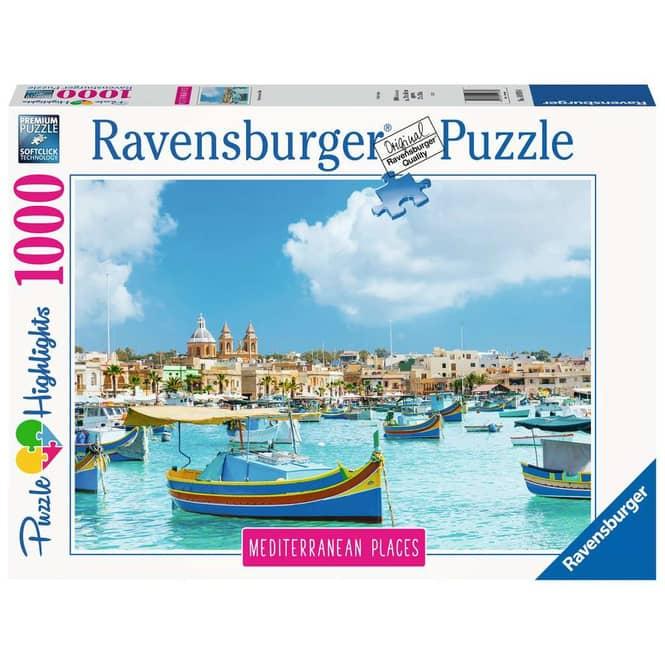 Puzzle - Mediterranean Malta - 1000 Teile