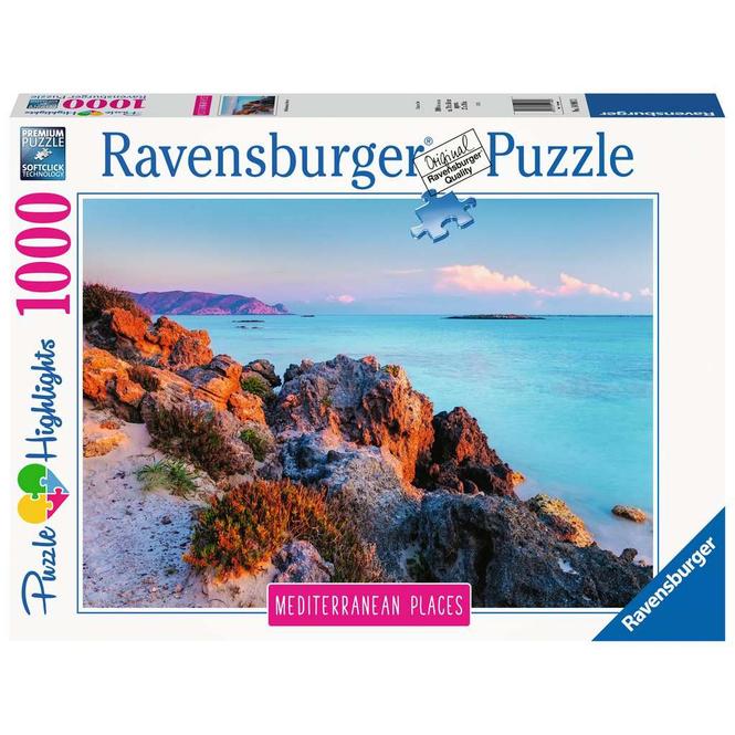 Puzzle - Mediterranean Greece - 1000 Teile