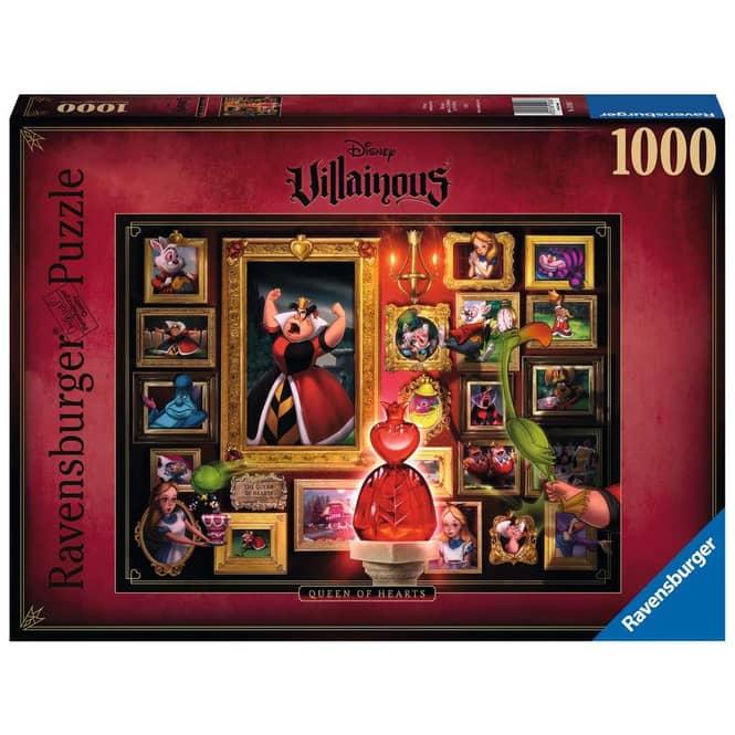 Puzzle - Villainous - Queen of Hearts - 1000 Teile
