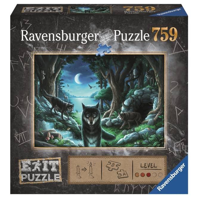 Puzzle - EXIT - Wolfsgeschichten - 759 Teile