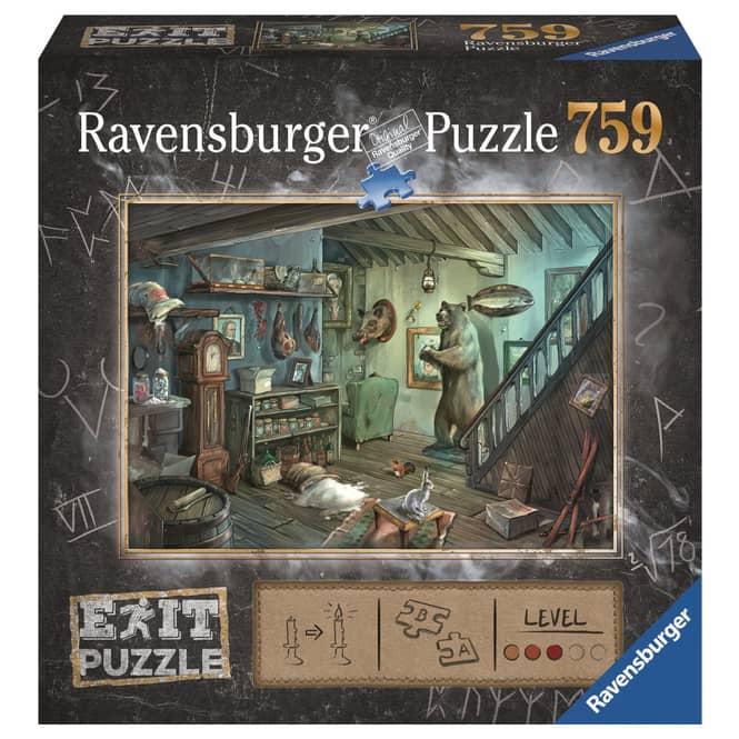 Puzzle - EXIT - Im Gruselkeller - 759 Teile