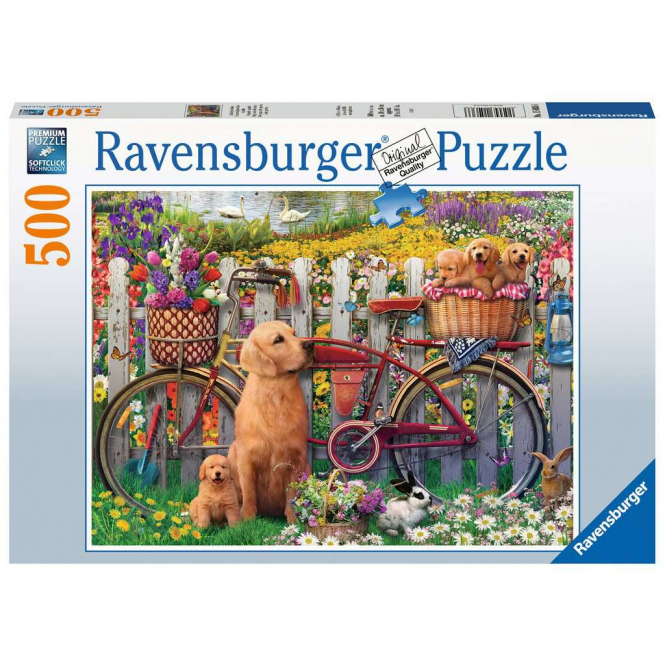 Puzzle - Ausflug ins Grüne - 500 Teile