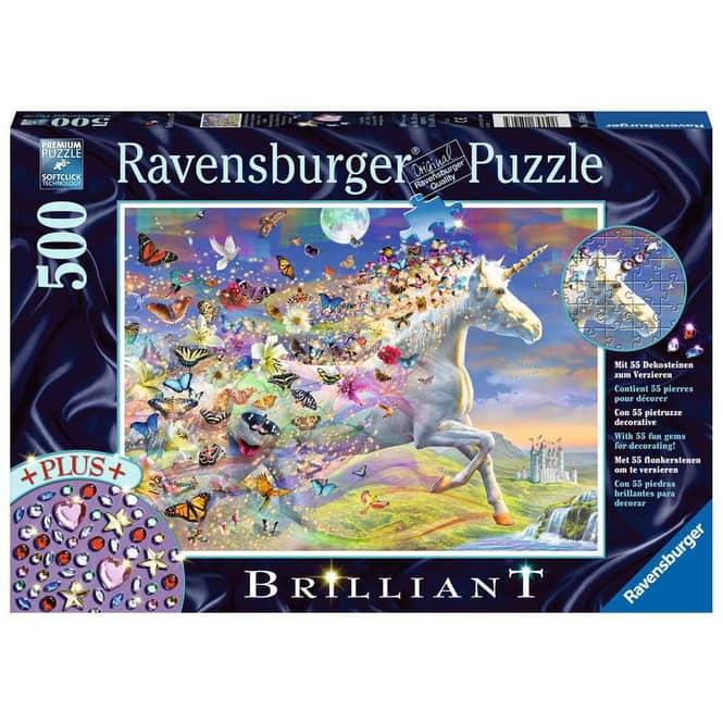 Puzzle - Schmetterlingseinhorn - 500 Teile
