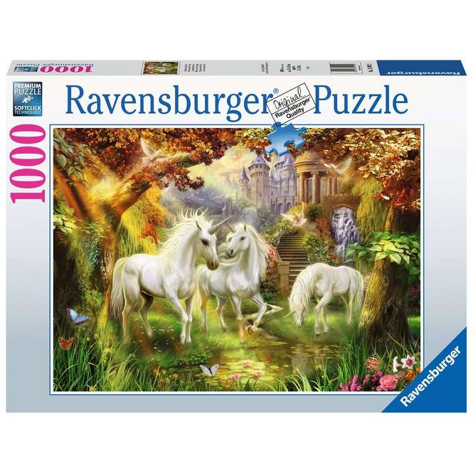 Puzzle - Einhörner im Herbst - 1000 Teile