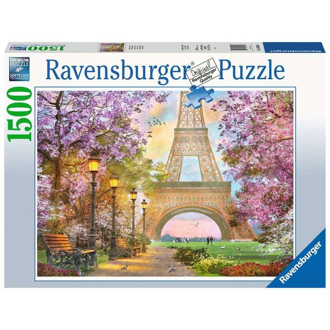 Puzzle - Verliebt in Paris - 1500 Teile