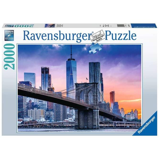 Puzzle - Von Brooklyn nach Manhatten - 2000 Teile