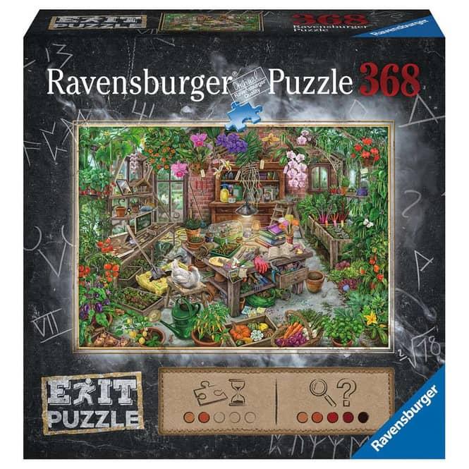 Puzzle - EXIT - Im Gewächshaus - 368 Teile