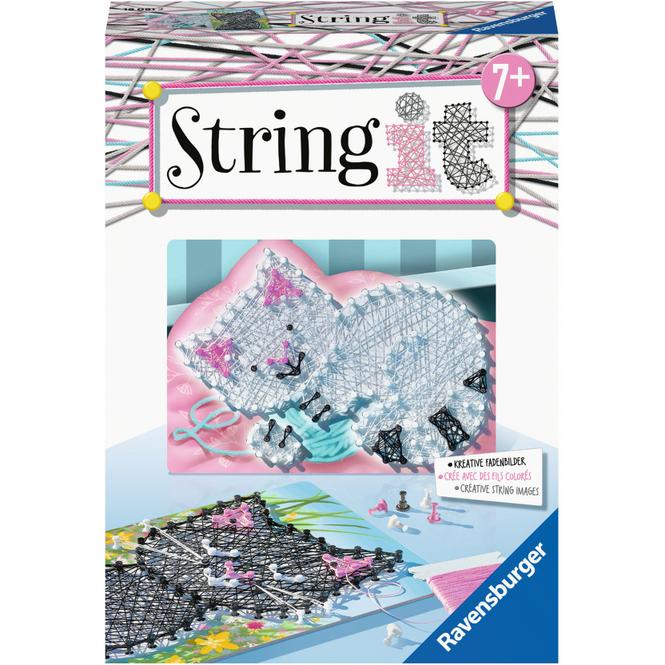String it Mini - Fadenbild - Katzen