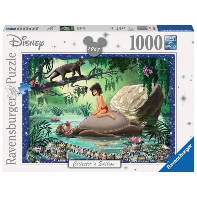 Puzzle - Dschungel Buch - 1000 Teile - Collectors Edition