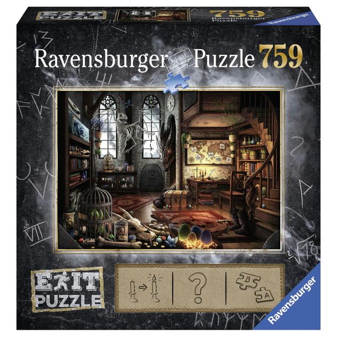 Puzzle - EXIT - Im Drachenlabor - 759 Teile