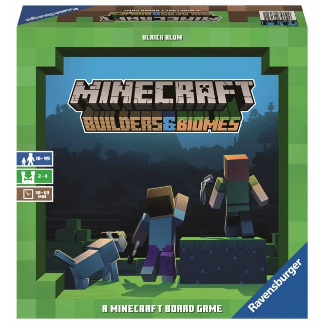 Minecraft - Builders&Biomes - A Minecraft Board Game