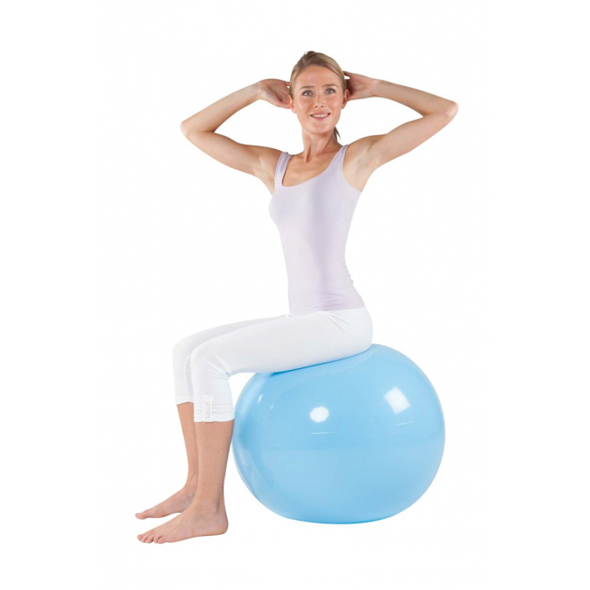 Gymnastikball - Ø 75cm - blau