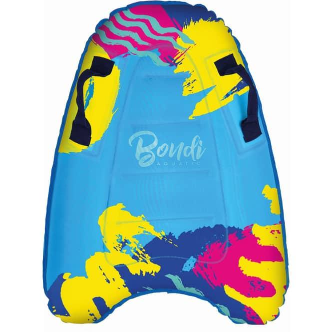 Bodyboard - aufblasbares Schwimmbrett mit Haltegriffen