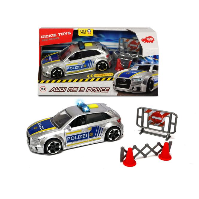 DICKIE - Polizeiauto - Audi - RS3